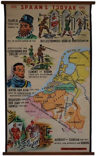 Spaans tijdvak, 1555-1713